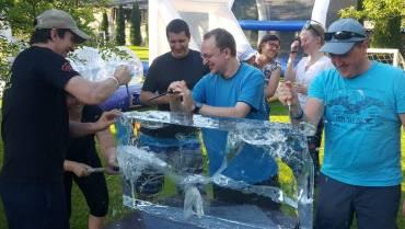 Izdelovanje ledenih skulptur